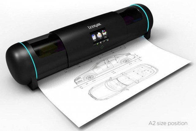 Retractable Printer concept (1)