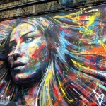 Spray Painted Portrait by David Walker