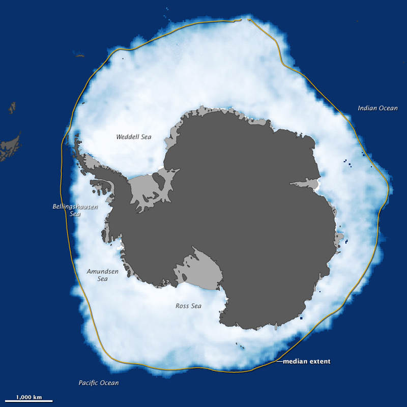 There's more ice at South Pole than ever