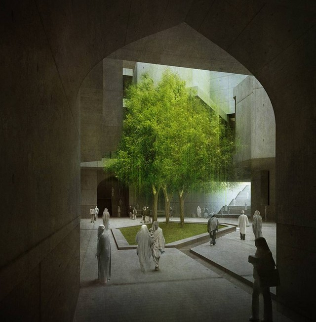 Timeless Cube National Museum of Afghanistan by MCA architects (2)