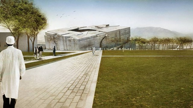 Timeless Cube National Museum of Afghanistan by MCA architects (14)