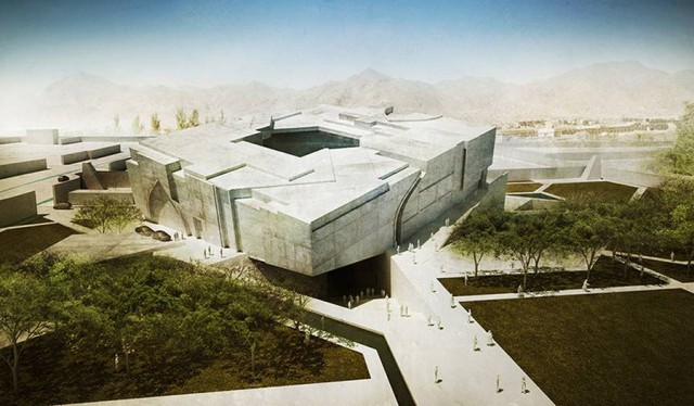 Timeless Cube National Museum of Afghanistan by MCA architects