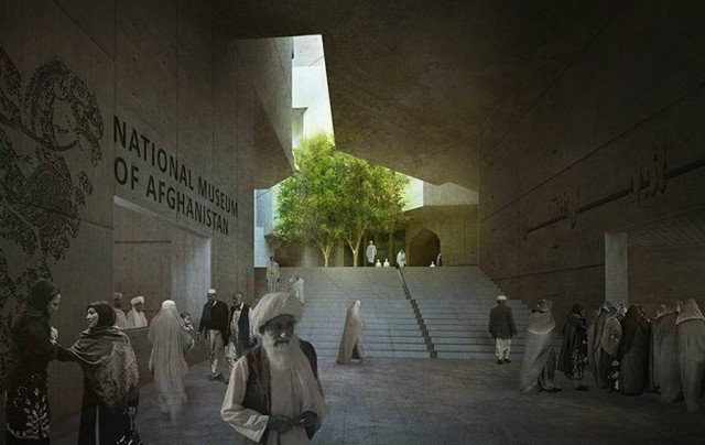 Timeless Cube National Museum of Afghanistan by MCA architects (12)