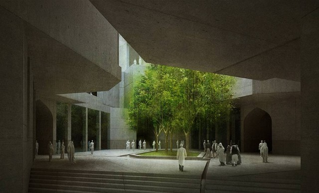 Timeless Cube National Museum of Afghanistan by MCA architects (11)