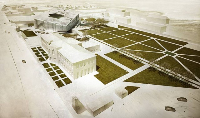 Timeless Cube National Museum of Afghanistan by MCA architects (10)