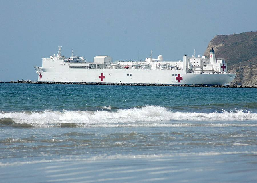 USNS Mercy largest Hospital ship in the world
