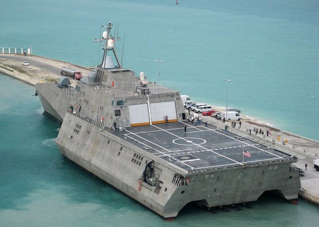 USS Independence LCS-2 Stealth Trimaran (7)
