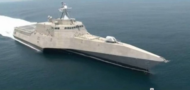 USS Independence LCS-2 Stealth Trimaran (3)