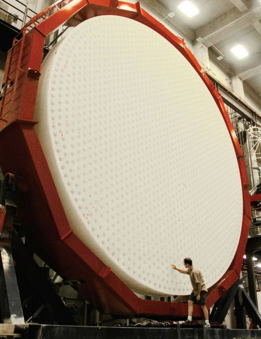 World's most advanced Mirror for giant Telescope completed (1)