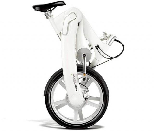 World's first Chainless folding electric bicycle