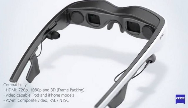 Zeiss Cinemizer head-mounted OLED display (2)