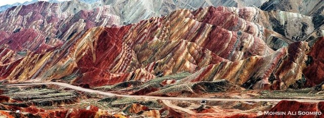 Zhangye Danxia, China National Geo Park