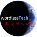 Happy 2nd birthday wordlessTech