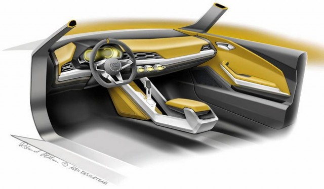 Behind the scenes at the Audi Design concept