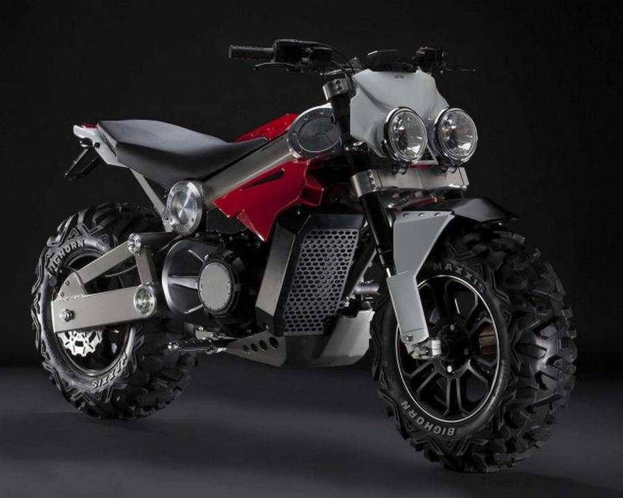Brutus all-terrain motorcycle concept - wordlessTech