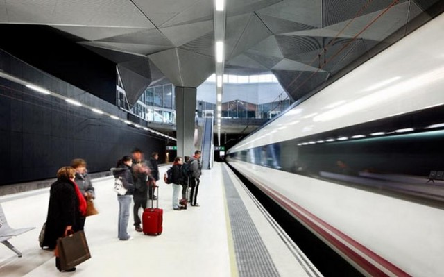 High Speed Train Station in Logrono (3)