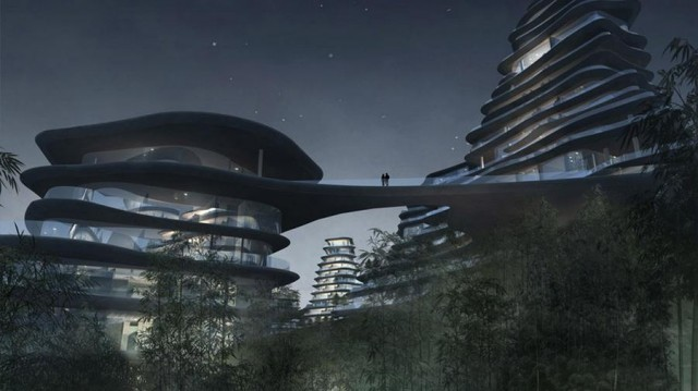 Huangshan Mountain Village by MAD architects (6)