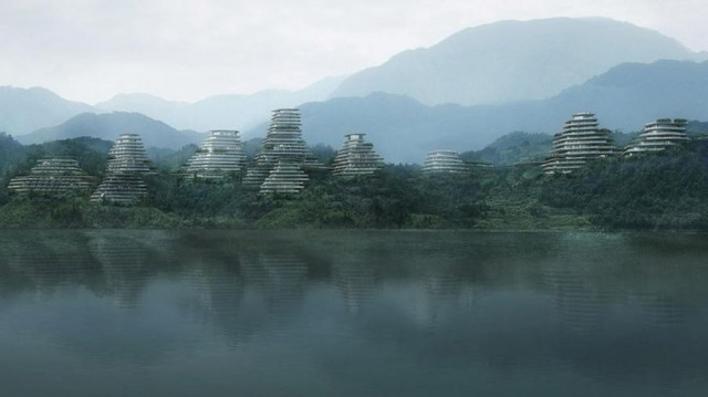 Huangshan Mountain Village by MAD architects (5)