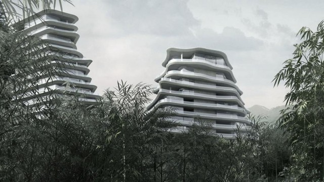 Huangshan Mountain Village by MAD architects (4)