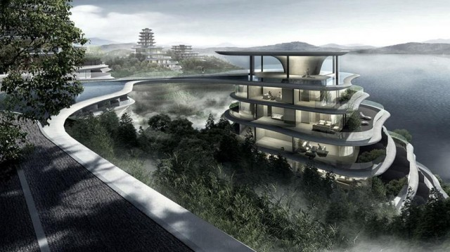 Huangshan Mountain Village by MAD architects (3)