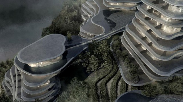 Huangshan Mountain Village by MAD architects (2)