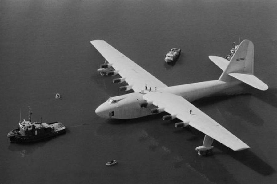 Hughes H-4 Hercules – Largest Flying Boat Ever | wordlessTech