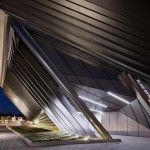 Inauguration of Broad Art Museum by Zaha Hadid