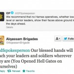 Israel declares War on Hamas via Twitter