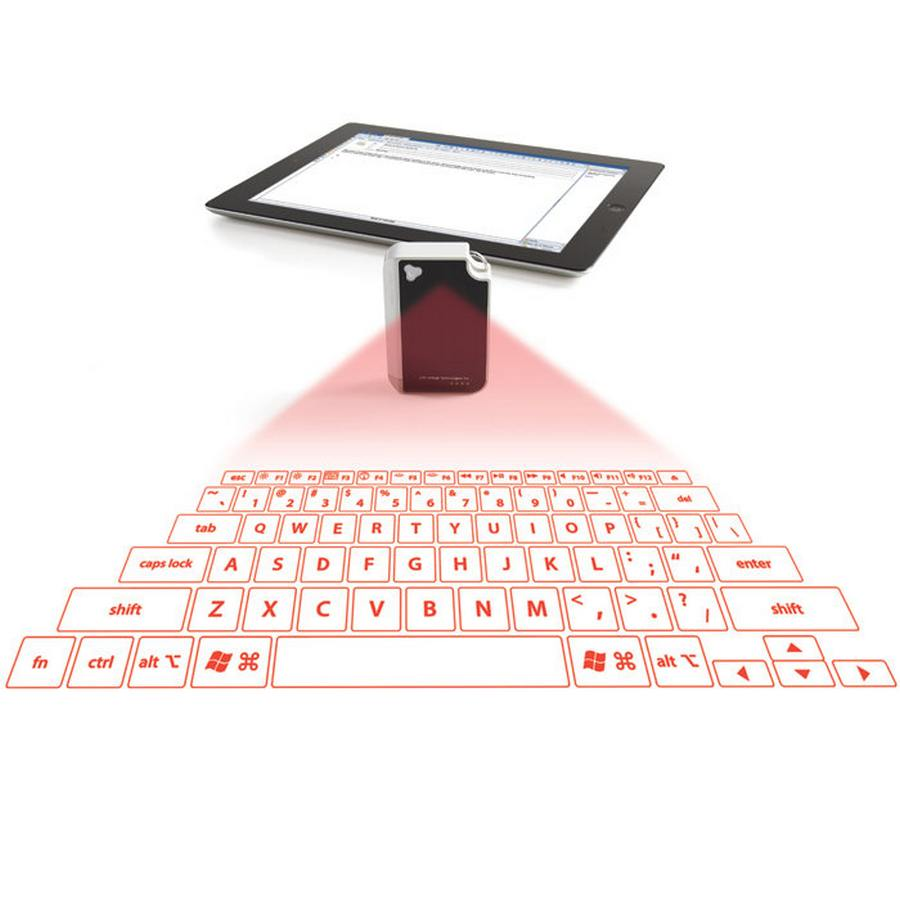 laser projected keyboard Product features easily pair laser projection keyboard & mouse for your iphone, ipad, smartphone, laptop or tablets for devices with bluetooth, operation systems: windows, ios, android, mac os english qwerty keyboard layout upgraded laser virtual keyboard: more stable and smarter to enhance buyers usage experience.