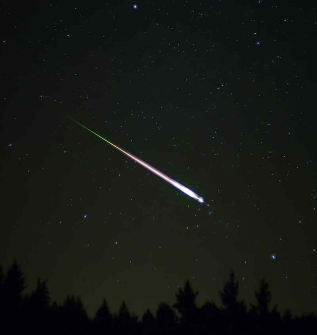 Leonid Meteor Shower 2012