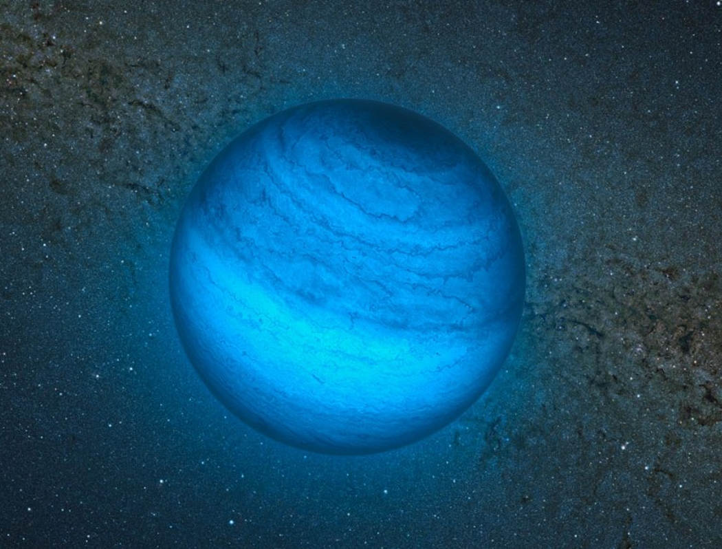 Lost in Space- free-floating Planet spotted