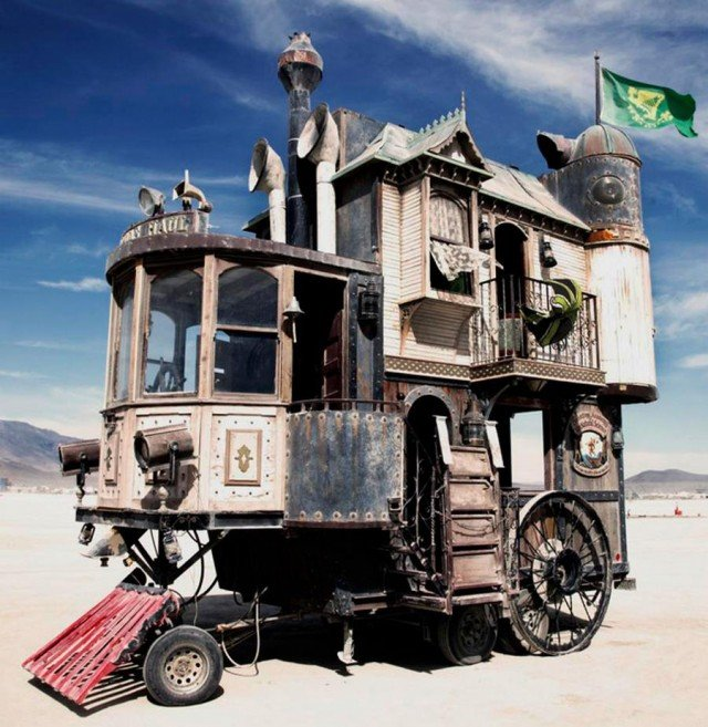 Mobile Victorian House