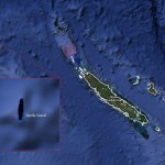 Mysterious ghost island in the Pacific