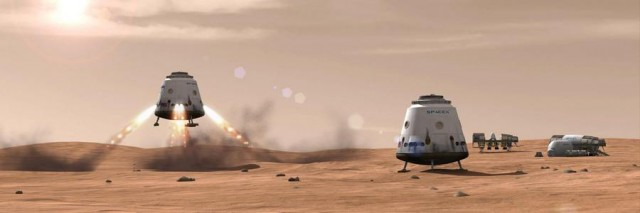 Plans for 80,000-person Mars Colony by SpaceX