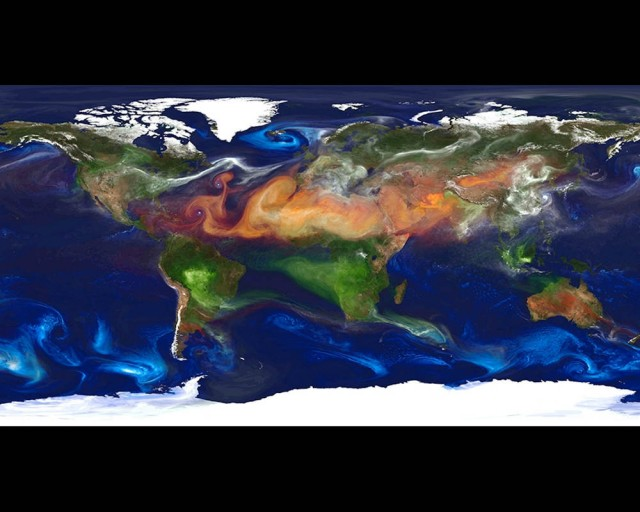 High-resolution global atmospheric modeling