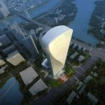 Qintai International Tower by Adrian Smith + Gordon Gil...