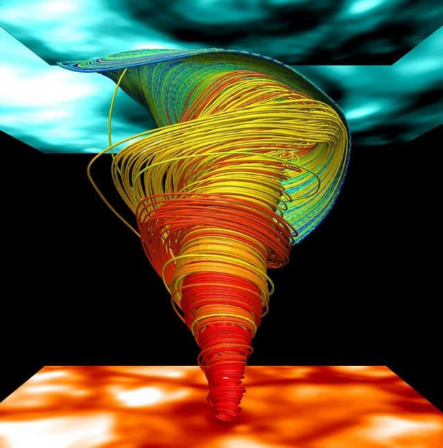 Simulate the Sun's Magnetic Fields in 3-D