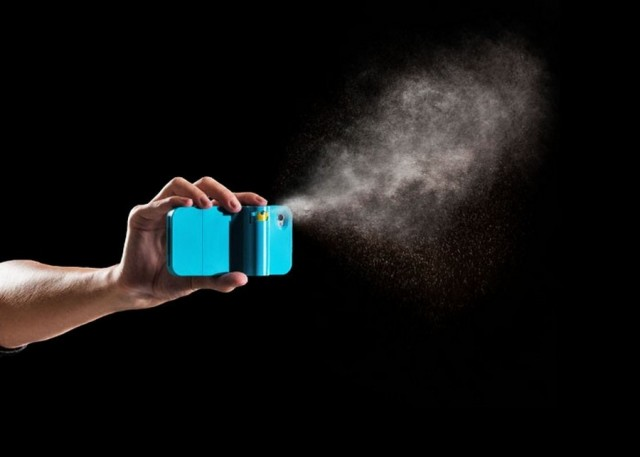 Spraytect smartphone case Pepper spray