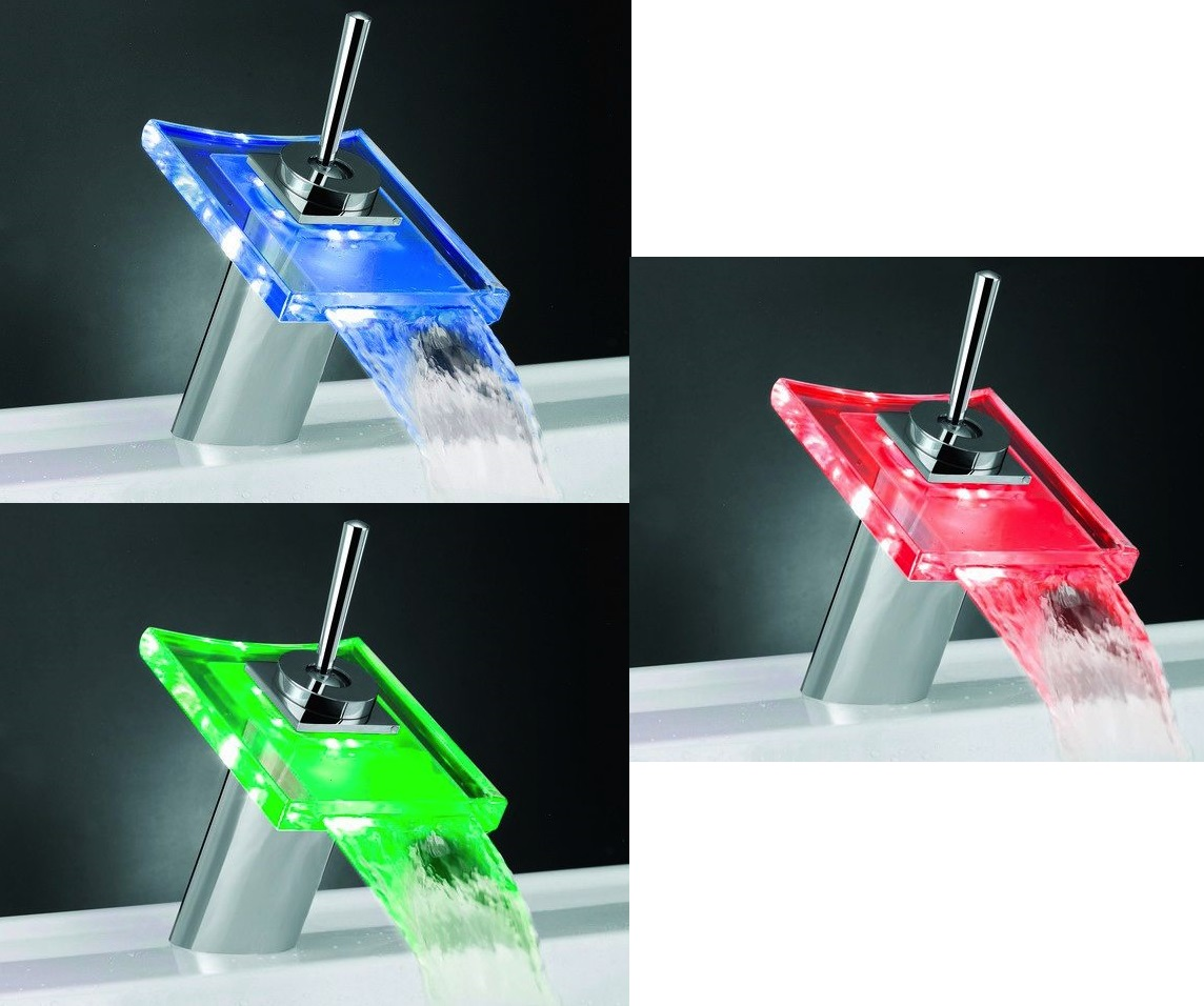 Temperature sensitive led faucet wordlesstech Temperature sensitive glass