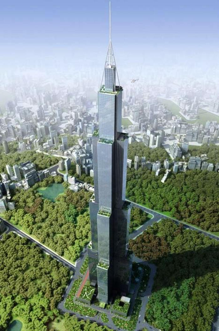 World's tallest building will be built in 90 days (4)