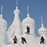 China's Snow World Festival 2012