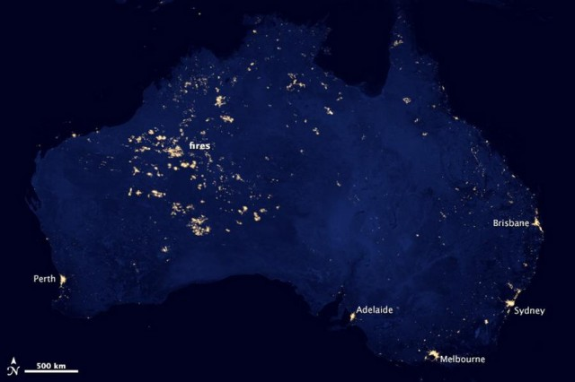 City Lights of Australia
