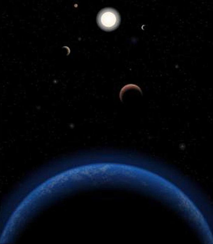 Earth-Like Planet in Tau Ceti
