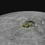 Evidence for Water Ice at Mercury's Poles