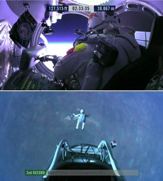 Felix Baumgartner- First man to break the Speed of Sound in Freefall