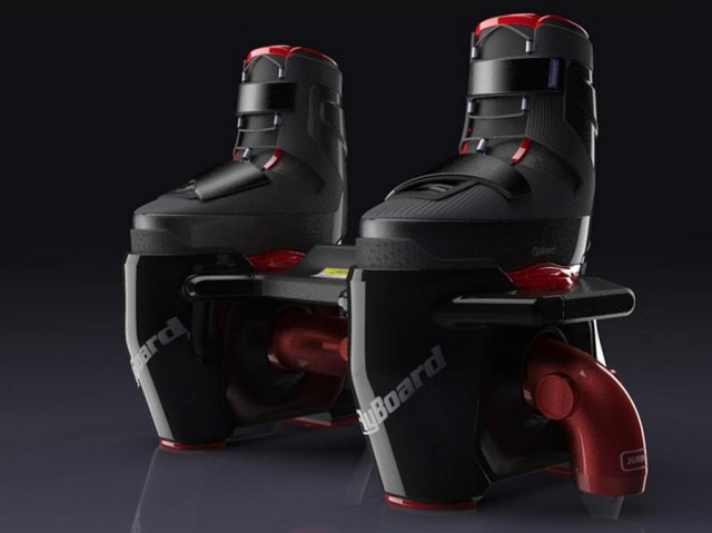 Flyboard watersports concept