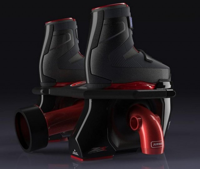 Flyboard watersports concept (2)