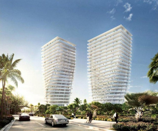 Grove at Grand Bay in Miami by BIG