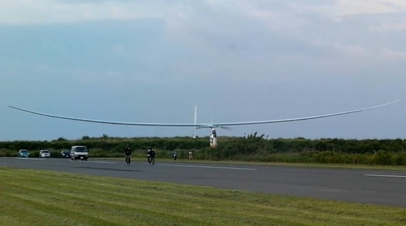 Human-powered plane aims for World record