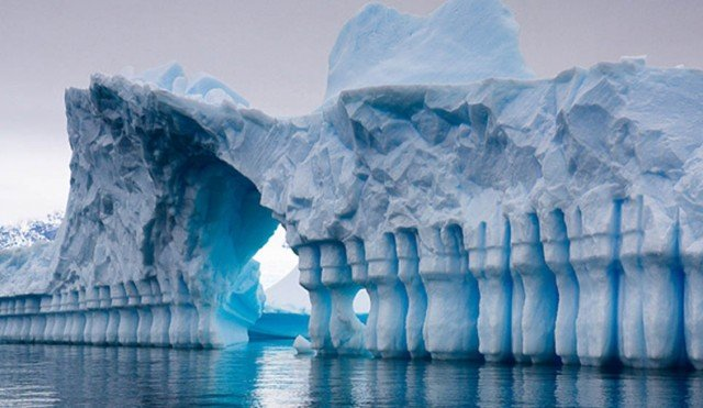 Iceberg in Pleneau Bay, Antarctica